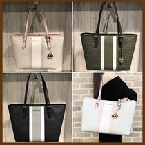 【Michael Kors】A4収納可 JET SET TRAVEL MD CARRYALL TOTE☆