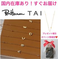 Ron Herman(ロンハーマン) ネックレス・ペンダント ロンハーマン取扱☆TAI☆イニシャルネックレス A~Z