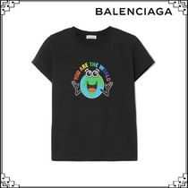 BALENCIAGA You are the World KIDSプリントTシャツ