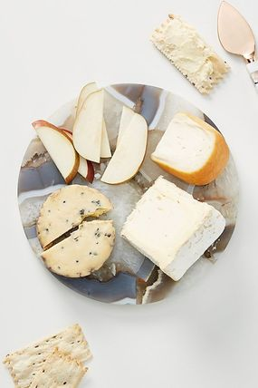 Anthropologie 食器(皿) 最安値*関送料込【Anthro】Quincy Composite Agate Cheese Board(4)