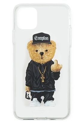 STIGMA スマホケース・テックアクセサリー 【STIGMA】IPHONE CASE COMPTON BEAR 11 / 11 Pro / 11 Pro Max(3)