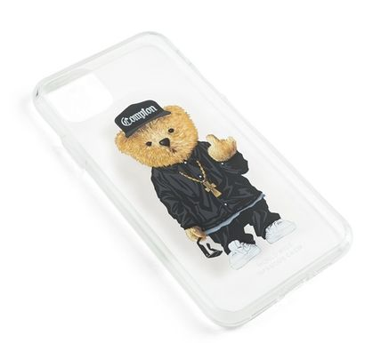 STIGMA スマホケース・テックアクセサリー 【STIGMA】IPHONE CASE COMPTON BEAR 11 / 11 Pro / 11 Pro Max(4)