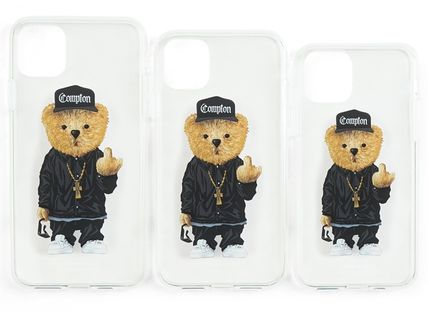 STIGMA スマホケース・テックアクセサリー 【STIGMA】IPHONE CASE COMPTON BEAR 11 / 11 Pro / 11 Pro Max(6)