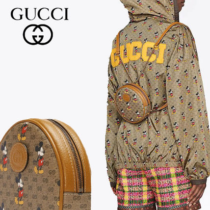 GUCCI バックパック・リュック Gucci x Disney GG pattern backpack