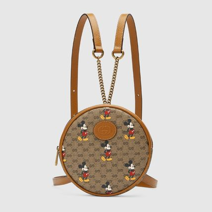 GUCCI バックパック・リュック Gucci x Disney GG pattern backpack(2)