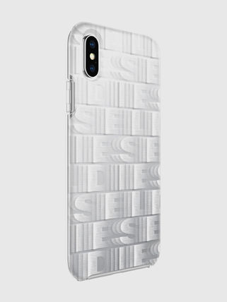 DIESEL スマホケース・テックアクセサリー DIESEL PRINTED CO-MOLD CASE FOR IPHONE XS & IPHONE X ケース(6)