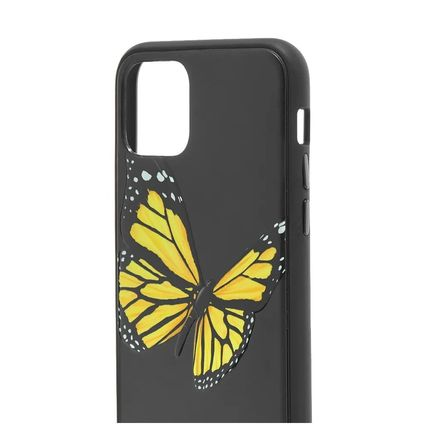 Palm Angels スマホケース・テックアクセサリー 新作!国内発送 PALM ANGELS BUTTERFLY IPHONE 11ケース(2)