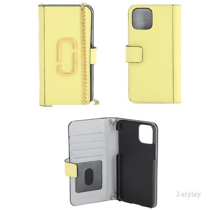 MARC JACOBS スマホケース・テックアクセサリー Marc Jacobs ★チェーンとレザー iphone11 PROケース(6)