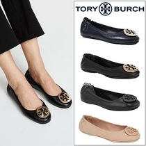 【定番・大人気】TORY BURCH MINNIE TRAVEL BALLET FLAT 4COLOR