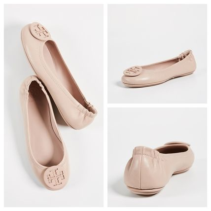 Tory Burch フラットシューズ 【定番・大人気】TORY BURCH MINNIE TRAVEL BALLET FLAT 4COLOR(6)