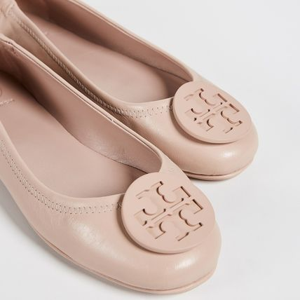 Tory Burch フラットシューズ 【定番・大人気】TORY BURCH MINNIE TRAVEL BALLET FLAT 4COLOR(7)