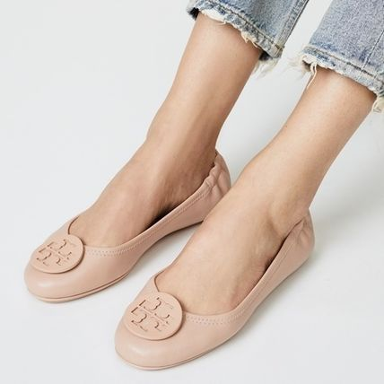 Tory Burch フラットシューズ 【定番・大人気】TORY BURCH MINNIE TRAVEL BALLET FLAT 4COLOR(8)