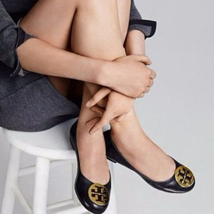 Tory Burch フラットシューズ 【定番・大人気】TORY BURCH MINNIE TRAVEL BALLET FLAT 4COLOR(9)