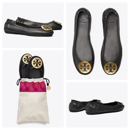 Tory Burch フラットシューズ 【定番・大人気】TORY BURCH MINNIE TRAVEL BALLET FLAT 4COLOR(10)
