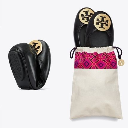 Tory Burch フラットシューズ 【定番・大人気】TORY BURCH MINNIE TRAVEL BALLET FLAT 4COLOR(11)