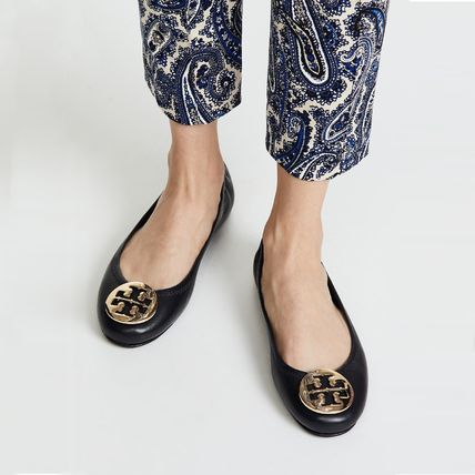 Tory Burch フラットシューズ 【定番・大人気】TORY BURCH MINNIE TRAVEL BALLET FLAT 4COLOR(12)