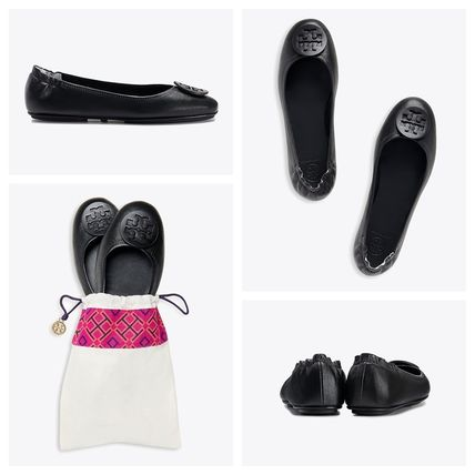 Tory Burch フラットシューズ 【定番・大人気】TORY BURCH MINNIE TRAVEL BALLET FLAT 4COLOR(14)
