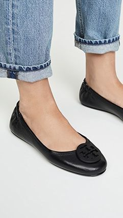 Tory Burch フラットシューズ 【定番・大人気】TORY BURCH MINNIE TRAVEL BALLET FLAT 4COLOR(15)