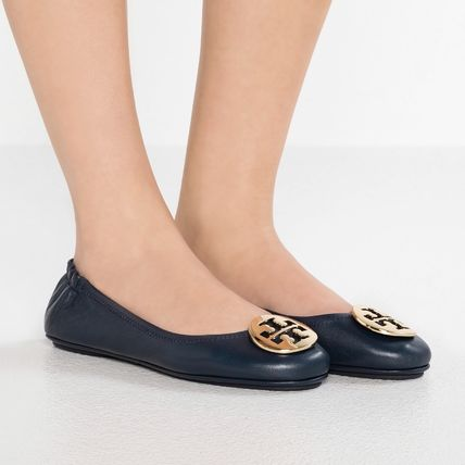 Tory Burch フラットシューズ 【定番・大人気】TORY BURCH MINNIE TRAVEL BALLET FLAT 4COLOR(5)