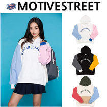 ★Motive Street★ COLOR BLOCK HOOD ブロックフード