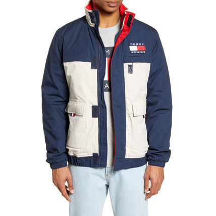 Tommy Hilfiger ジャケットその他 【Tommy Hilfiger】TOMMY JEANS*カラーブロックジャケット/紺(2)