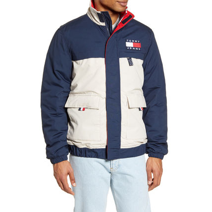 Tommy Hilfiger ジャケットその他 【Tommy Hilfiger】TOMMY JEANS*カラーブロックジャケット/紺(3)