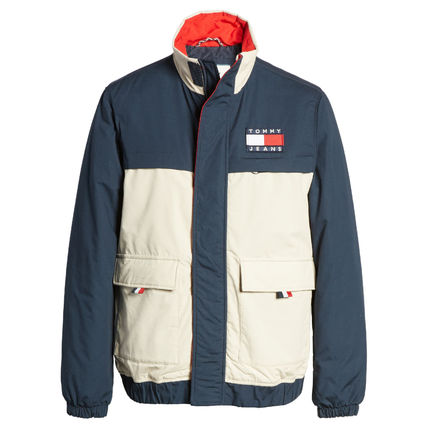 Tommy Hilfiger ジャケットその他 【Tommy Hilfiger】TOMMY JEANS*カラーブロックジャケット/紺(6)