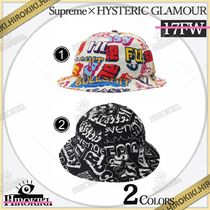 17FW /Supreme × HYSTERIC GLAMOUR Text Bell Hat ベル ハット