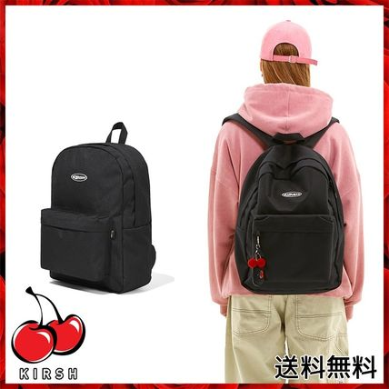 KIRSH バックパック・リュック [KIRSH] CIRCLE LOGO BACKPACK JS [BLACK]