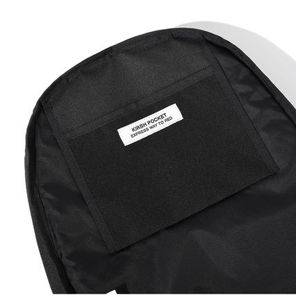 KIRSH バックパック・リュック [KIRSH] CIRCLE LOGO BACKPACK JS [BLACK](14)
