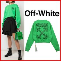 ★Off-White★Overfit Crop SWEATSHIRTS ☆正規品・安全発送☆