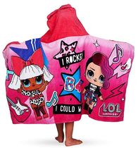 【L.O.L. Surprise!】Cotton Hooded Bath Towel Wrap/タオル