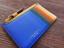 Tory Burch Perry Color-Block Card Case 本革カードケース61160