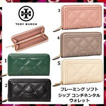 セール 新作 Tory Burch Fleming Soft Zip Continental Wallet