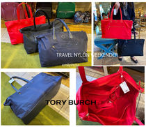 TORY BURCH★TRAVEL TOTE*軽い+大容量 旅行に ママバッグ