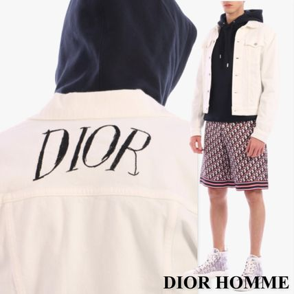 Dior ジャケットその他 DIOR HOMME Denim Jacket White