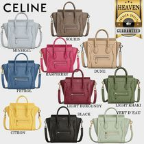 累積売上総額第1位!【CELINE】NANO LUGGAGE BAG_189243DRU