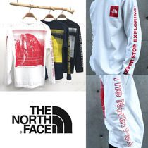 国内発【THE NORTH FACE】L/S Sleeve Graphic Tee☆メンズ
