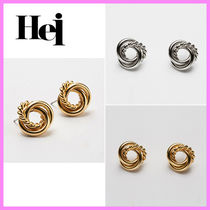 【Hei】three string twisted post earring〜ピアス★日本未入荷