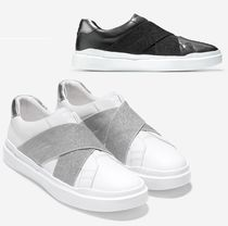 COLE HAAN GrandPro Rally Slip-On Sneaker クロスストラップ