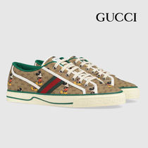 GUCCI ディズニー x グッチ Tennis 1977 sneaker with Web