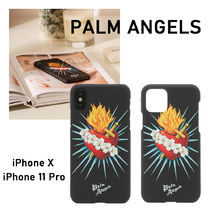 【PALM ANGELS】SACRED HEART iPhone X/iPhone 11 Proケース