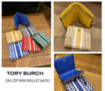2月新作 TORY BURCH★ZAG ZIP MINI WALLET 折り財布