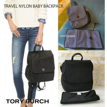 Tory Burch バックパック・リュック 2月新作 TORY BURCH★TRAVEL NYLON BABY BACKPACK*大容量