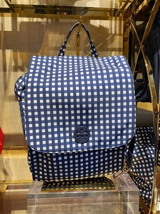 Tory Burch バックパック・リュック 2月新作 TORY BURCH★TRAVEL NYLON BABY BACKPACK*大容量(2)