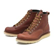 RED WING(レッドウィング) ブーツ 国内配送 RED WING 6'LINEMAN BOOTS RED BROWN