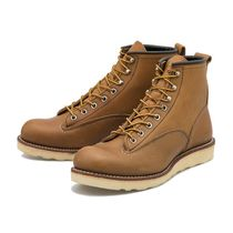 RED WING(レッドウィング) ブーツ 国内配送 RED WING 6'LINEMAN BOOTS BROWN