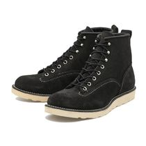 RED WING(レッドウィング) ブーツ 国内配送 RED WING 6'LINEMAN BOOTS BLACK