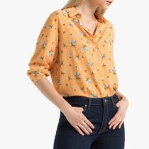 La Redoute★Floral Print Shirt with Long Sleeves