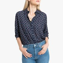 La Redoute★Printed Shirt with Long Sleeves
